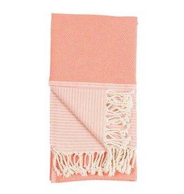 Pokoloko Kreative Ltd. Turkish Towel - Patek - Coral