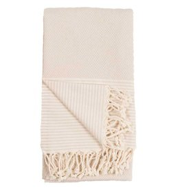 Pokoloko Kreative Ltd. Turkish Towel - Patek - Egg Shell