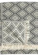 Pokoloko Kreative Ltd. Turkish Towel - Pyramid - Black