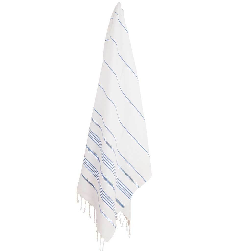 Pokoloko Kreative Ltd. Turkish Towel - Sultan - White