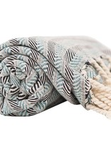 Pokoloko Kreative Ltd. Turkish Towel - Turquoise Coast - Bluemist