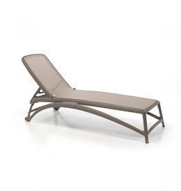 Nardi Atlantico Chaise Lounge - Tortora/Tortora