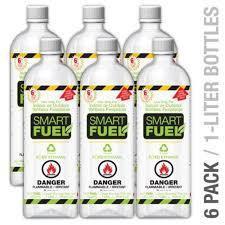 Anywhere Fireplace Smart Fuel - 1L Bottle - Liquid Bio-Ethanol Fuel
