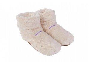 Slippies Boots Deluxe Beige | Magnetronsloffen | Warmies