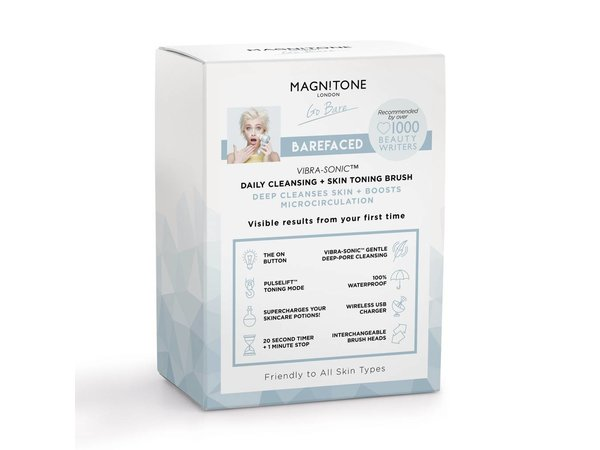 Magnitone Shimmer collection Serenity Blue