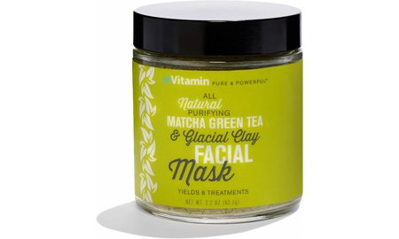 Invitamin  Invitamin natural purifying matcha green tea facial clay mask