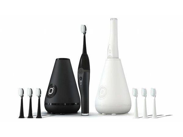 Aura Clean Sonic Toothbrush System black