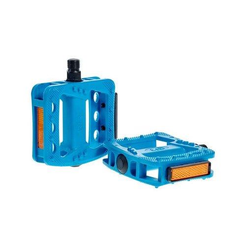 CUBE RFR PEDALS FLAT HQP CMPT (BLUE)