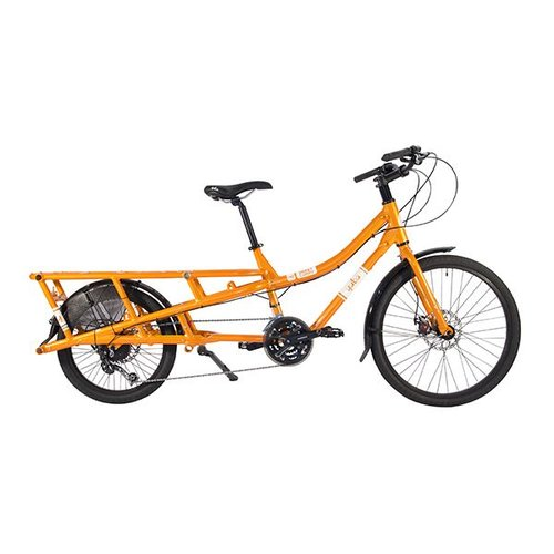 YUBA SWEET CURRY LONG TAIL CARGO BIKE