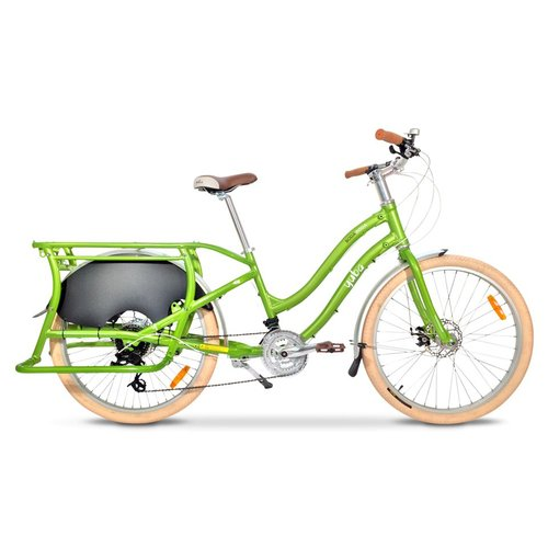 YUBA BODA BODA STEP-THRU COMPACT CARGO BIKE (GREEN)
