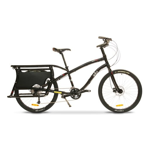 YUBA BODA BODA ALL-TERRAIN COMPACT CARGO BIKE (BLACK)