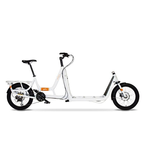 YUBA SUPERMARCHE FRONT LOADER CARGO BIKE (WHITE)