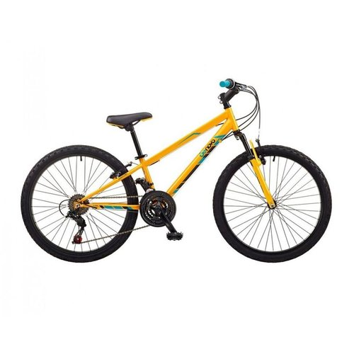 "DE NOVO DE NOVO D-24 ATB FS BOYS 24"" WHEEL 18SPD (YELLOW)"