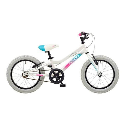 "DE NOVO DE NOVO-16 ATB GIRLS 16"" WHEEL (WHITE)"