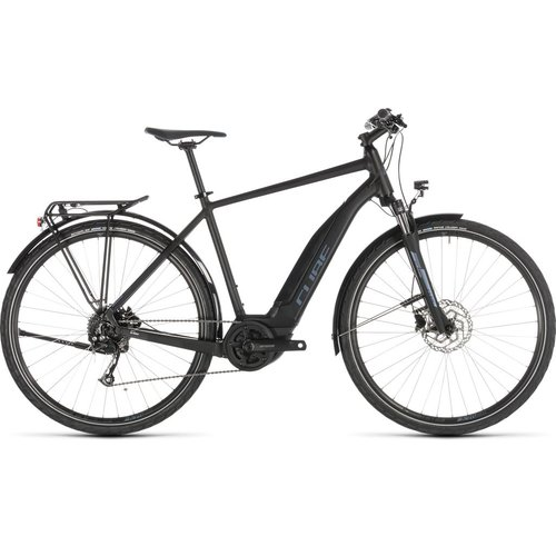CUBE CUBE TOURING HYBRID ONE 500 BLACK/BLUE 2019