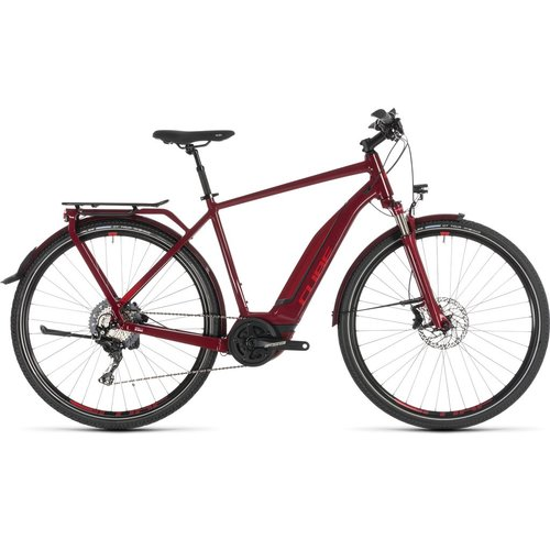 CUBE CUBE TOURING HYBRID EXC 500 DARKRED/RED 2019