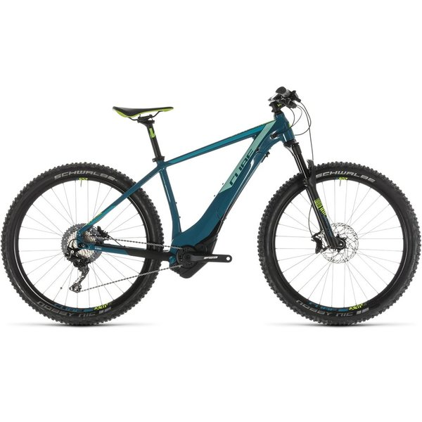 CUBE ACCESS HYBRID SL 500 PINETREE/GREEN 2019