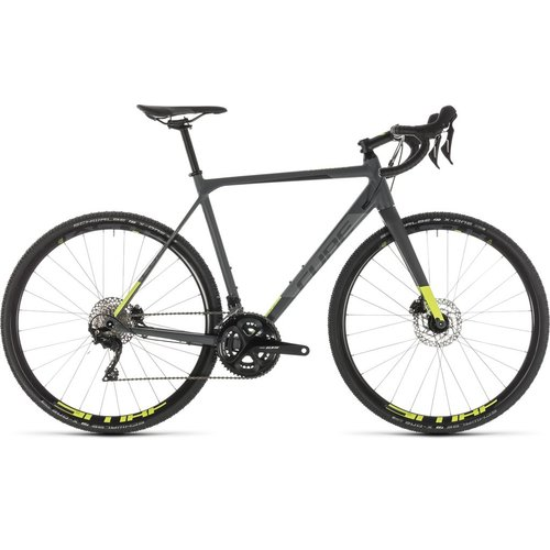 CUBE CUBE CROSS RACE PRO GREY/FLASHYELLOW 2019