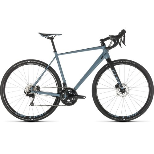 CUBE CUBE NUROAD RACE BLUE/BLACK 2019