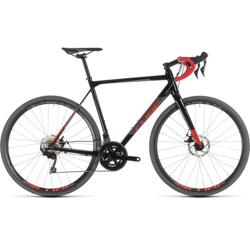 CUBE CUBE CROSS RACE BLACK/RED 2019