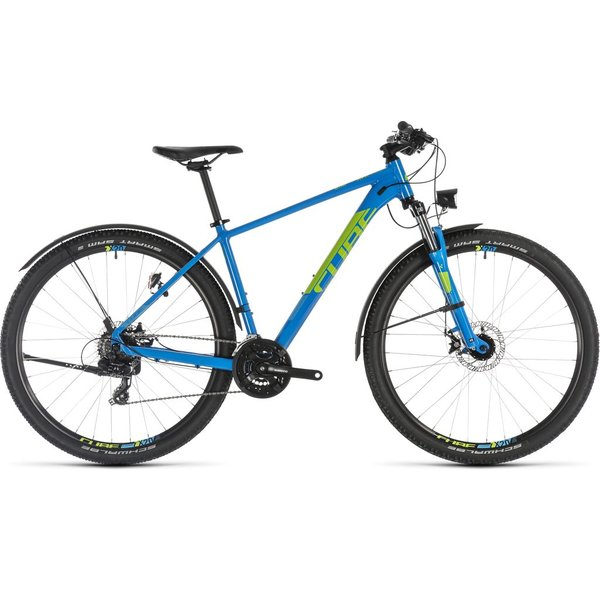 CUBE AIM ALLROAD BLUE/GREEN 2019