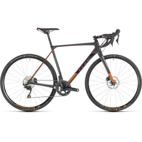 CUBE CUBE CROSS RACE C:62 PRO GREY/RED 2019