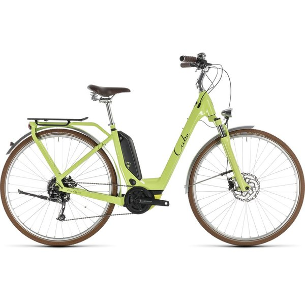 CUBE ELLY RIDE HYBRID 500 GREEN/BLACK 2019