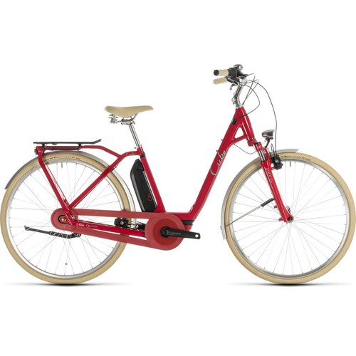 CUBE CUBE ELLY CRUISE HYBRID 400 RED/MINT 2019