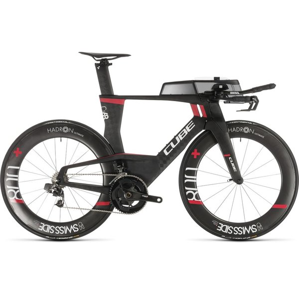 CUBE AERIUM C:68 SLT HIGH CARBON/RED 2019