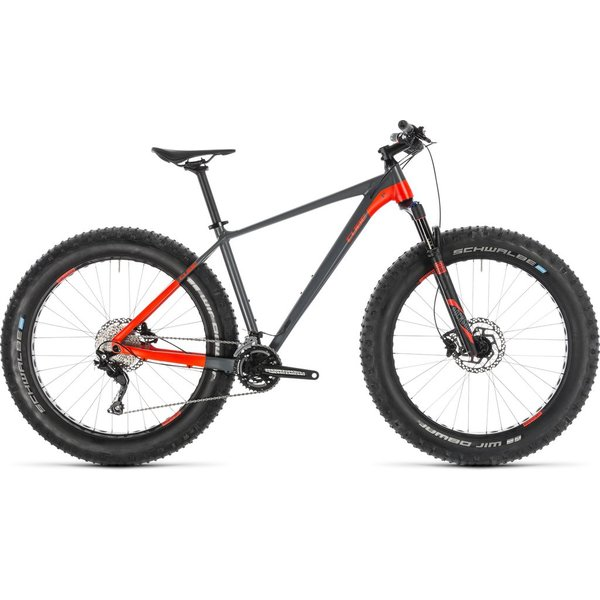 CUBE NUTRAIL GREY/FLASHRED 2019