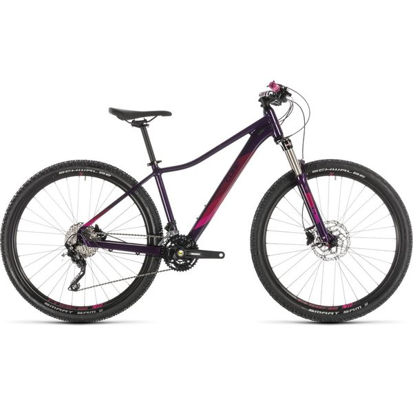CUBE ACCESS WS RACE AUBERGINE/BERRY 2019