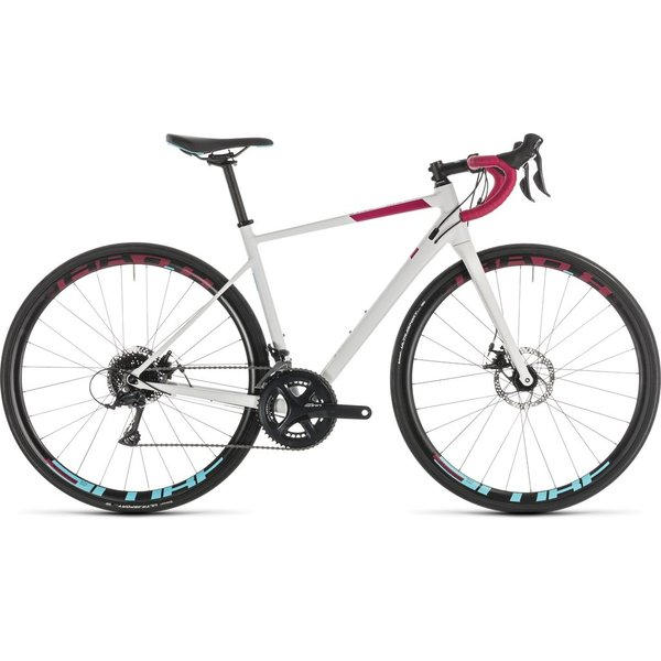 CUBE AXIAL WS PRO DISC WHITE/BERRY 2019