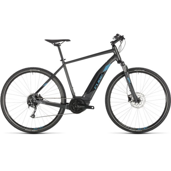 CUBE CROSS HYBRID ONE 500 IRIDIUM/BLUE 2019