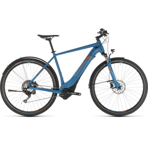 CUBE CROSS HYBRID RACE 500 ALLROAD BL/OR 2019