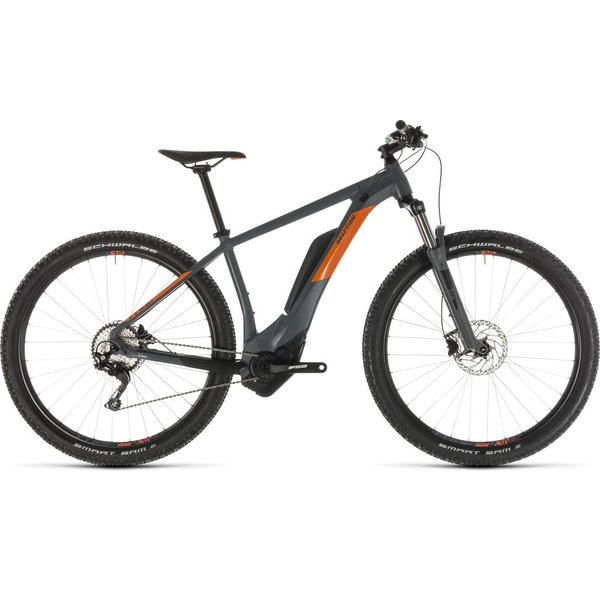 CUBE REACTION HYBRID PRO 500 GREY/ORANGE 2019