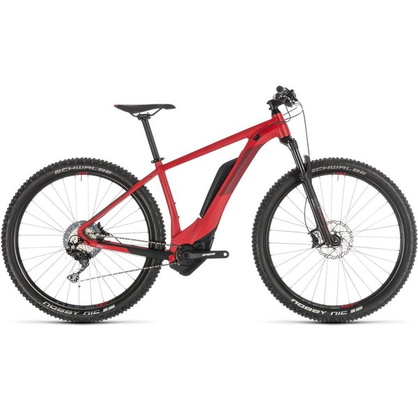 CUBE REACTION HYBRID RACE 500 RED/RED 2019