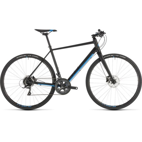 CUBE CUBE SL ROAD BLACK/BLUE 2019