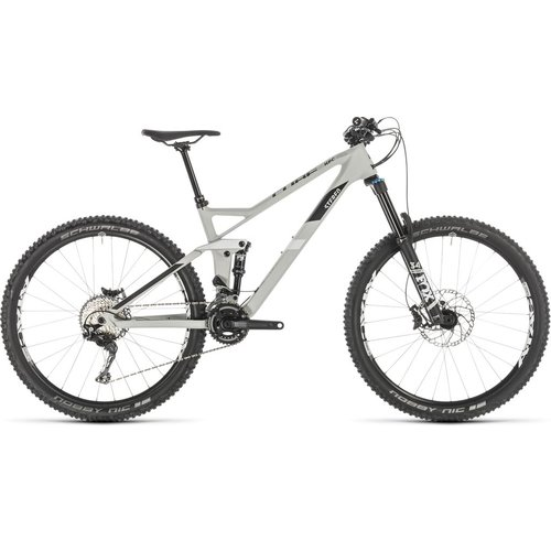 CUBE CUBE STEREO 140 HPC RACE 27.5 GREY/WHITE 2019