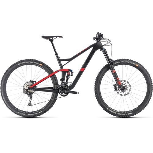 CUBE CUBE STEREO 150 C:62 RACE 29 CARBON/RED 2019