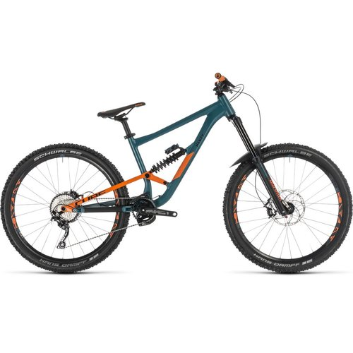 CUBE CUBE HANZZ 190 RACE 27.5 PINETREE/ORANGE 2019