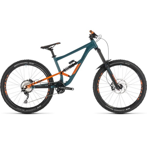 CUBE HANZZ 190 RACE 27.5 PINETREE/ORANGE 2019