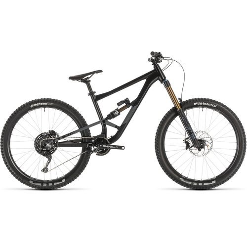 CUBE CUBE HANZZ 190 TM 27.5 BLACK/GREY 2019