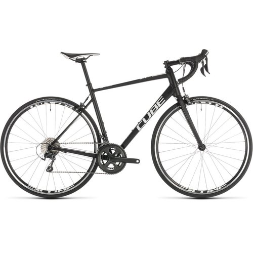 CUBE CUBE ATTAIN RACE BLACK/WHITE 2019