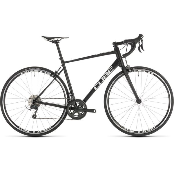 CUBE ATTAIN RACE BLACK/WHITE 2019