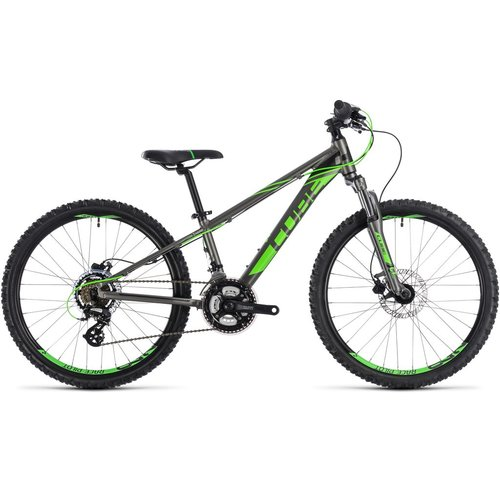 CUBE CUBE KID 240 DISC GREY/FLASHGREEN 2019 24""