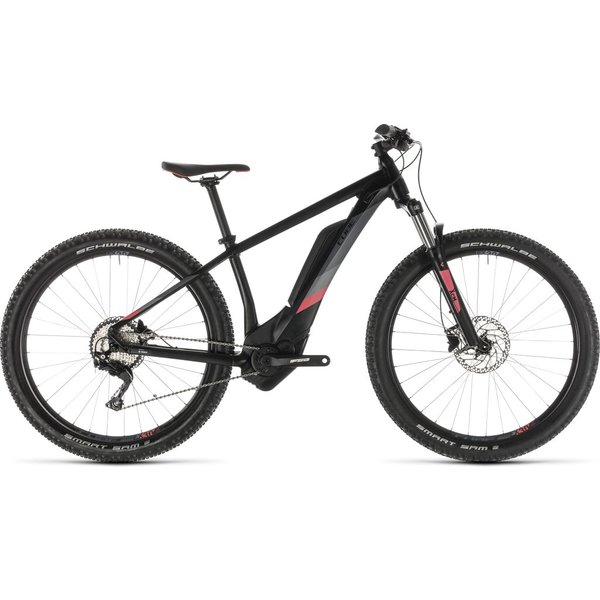 CUBE ACCESS HYBRID PRO 400 BLACK/CORAL 2019