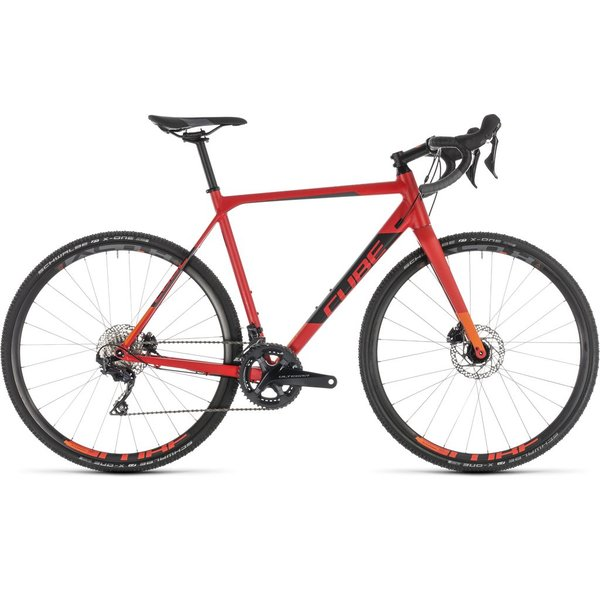 CUBE CROSS RACE SL RED/ORANGE 2019
