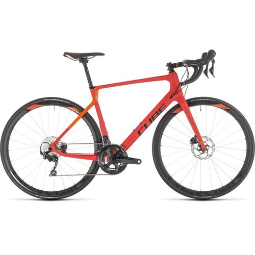 CUBE CUBE AGREE C:62 RACE DISC RED/ORANGE 2019
