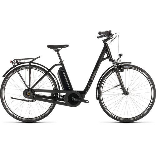 CUBE CUBE TOWN HYBRID ONE 500 BLACK/BROWN 2019