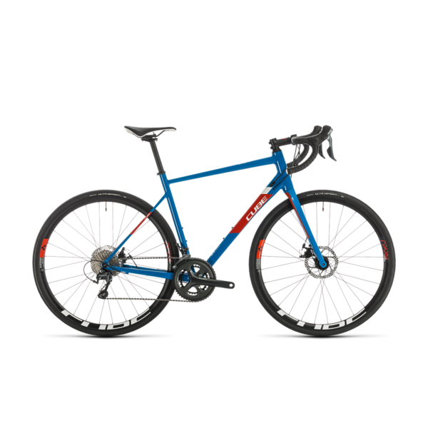 CUBE ATTAIN RACE BLUE/RED 2020